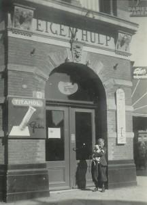 EH boekwinkelhoek Prinse en Nobelstraat Den Haag