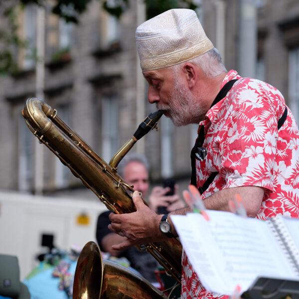Rob bas saxofoon