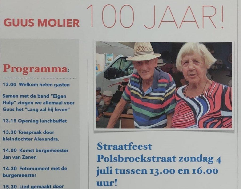 100 jarige Guus Molier